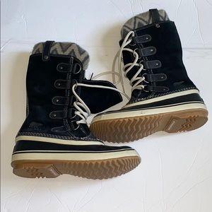 Women's Sorel suede winter boots
